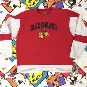 Chicago Blackhawks jersey tee